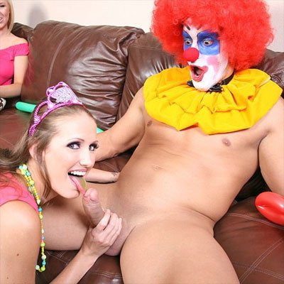 clown girl porn
